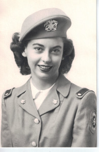 My Mom, the Nurse Cadet