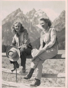 Wyoming Cowgirls circa 1943