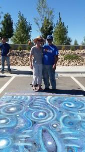 Centennila Chalk Art Festival, with Martin Calomino, artist
